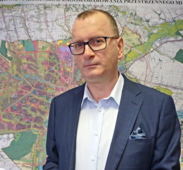 Mariusz Sagan, dyrektor Wydziału Strategii i Przedsiębiorczości UrzęduMiasta w Lublinie