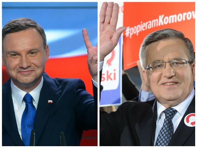 Andrzej Duda i Bronisław Komorowski.