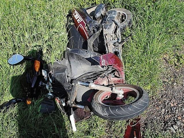 Wypadek w Głuchowie – ranny 15-letni motorowerzysta trafi do szpitala w Rzeszowie