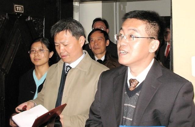 Chińscy przedsiębiorcy gościli w Grudziądzu w październiku