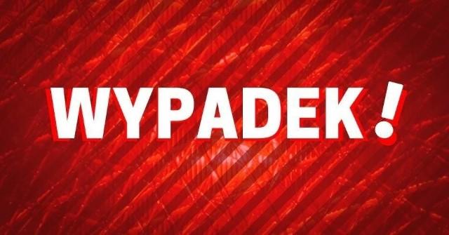 W Przyłubiu doszło do wypadku dwóch samochodów ciężarowych.