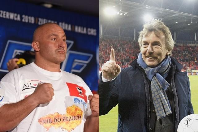 Iskrzy na linii Zbigniew Boniek - Marcin Najman. Kto zadał mocniejsze ciosy?