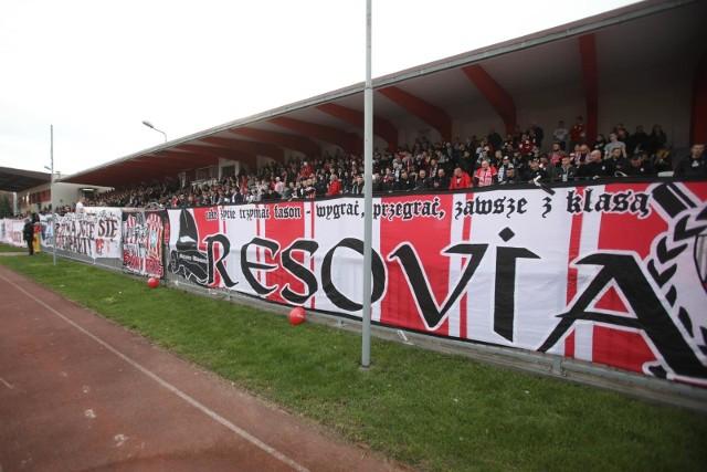 Kibice Resovii tez pokazali, jak bardzo stęsknili się za piłką nożną i swoją drużyną.