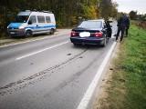 BMW uszkodzone w kolizji. Zirytowany kierowca wybił szyby w fiacie