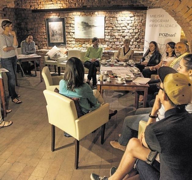 W ubiegły czwartek i piątek odbyły się warsztaty w kawiarni Kamea. Efektem ma być zaproszenie poznaniaków do centrum