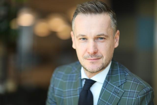 Emil Dormacki, dyrektor Działu Gruntów w Colliers International.