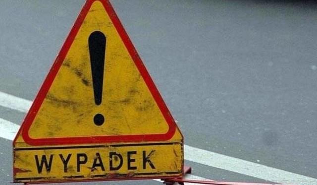 Do wypadku z udziałem motocyklisty doszło dziś rano w Łękach Strzyżowskich.