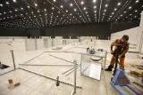 Szpital covidowy w Katowicach powstaje w MCK. Zmieści aż 500 łóżek. Prace trwają
