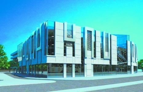 Coraz bliżej budowy galerii w miejscu marketu ABCTak będzie wyglądała galeria u zbiegu ulic Kaczorowskiego i Bułgarskiej w Białymstoku. Autorem projektu jest białostockie biuro AB Architects. Budynek będzie miał sporo przeszkleń i trzy kondygnacje.