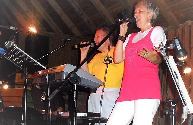 Izabela Panter, dość dawno nie widziana na scenie w koncercie grudziadzkich dinozaurów, też wystąpi 26 października w NOT