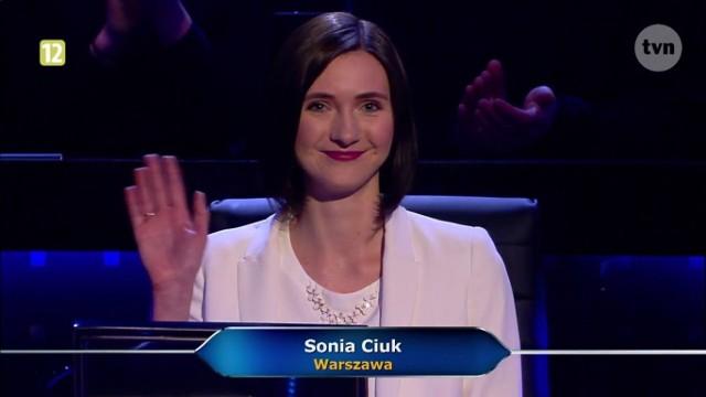 Sonia usłyszała pytanie za milion złotych