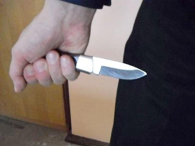 z nożem na szefa restauracji