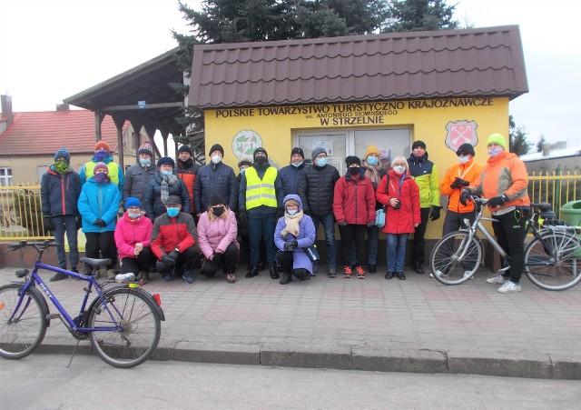 W Strzelnie z okazji Dnia Kobiet odbył się turystyczny rajd pieszy i rowerowy. Imprezę zorganizował miejscowy Oddział PTTK