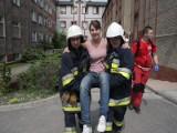 Strażacy ewakuowali szpital w Zielonej Górze (wideo, zdjęcia)