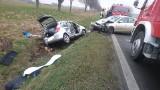 Groźny wypadek na drodze krajowej nr 5 [ZDJĘCIA]