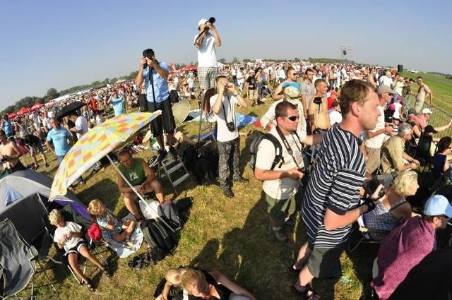 Dwudniowe Air Show ściąga do Radomia podczas każdej kolejnej edycji niespełna 200 tysięcy ludzi.