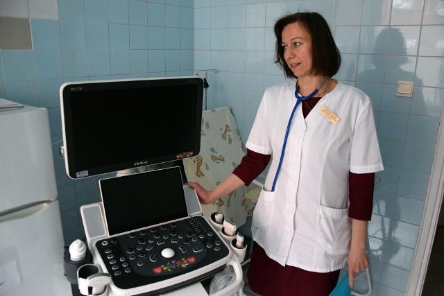 Szpital w Miastku otrzymał nowoczesny aparat USG oraz łóżeczka dla oddziału noworodkowego