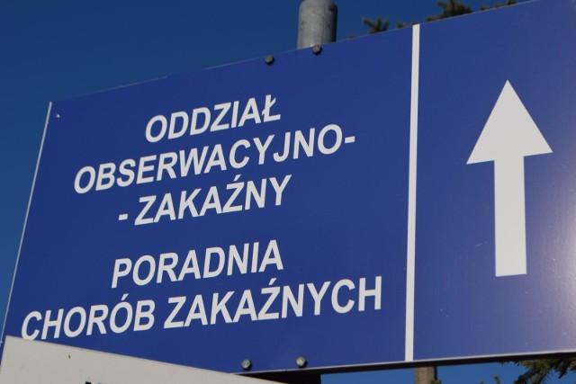 8.03.2020 koronawirus racibórz szpital racibórz oddzial zakazny raciborz fot. arek biernat / dziennik zachodni / polska press
