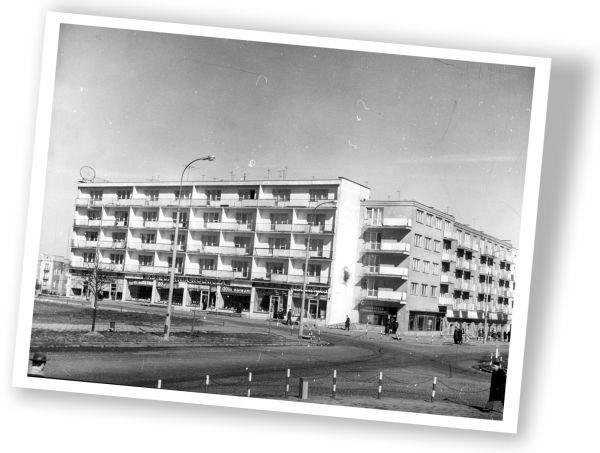 Mister białostockiej architektury 1962. Ze zbiorów Muzeum Podlaskiego w Białymstoku.