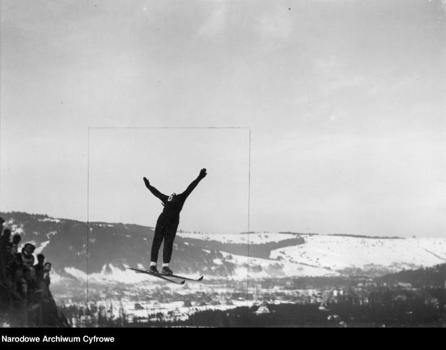 Zobaczcie, jak w latach 1933-1939 wyglądały sporty zimowe pod Tatrami.