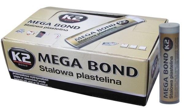 Stalowa plastelina K2 Mega BondPlastelina na naprawy uszkodzeń