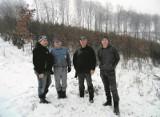 Cewice. Myśliwy i rolnik uratowali jelenia z wnyków