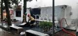 Nad Miedwiem nad ranem paliła się plenerowa restauracja Biały Tulipan. Gasili ją strażacy z Kobylanki, Bielkowa i ze Stargardu