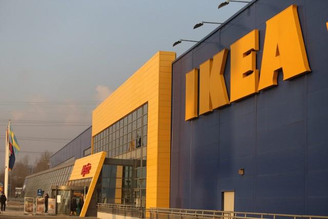 Sklep sieci Ikea w Katowicach.