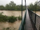 Alarm przeciwpowodziowy w Bochni, w Proszówkach poziom wody w Rabie przekroczył 7,5 metra - zobacz nowe zdjęcia