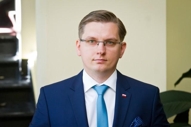 Adrian Mól, rzecznik Wojewody Kujawsko - Pomorskiego