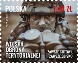 Inowrocław. Gratka dla filatelistów. Poczta Polska wydała znaczek dedykowany Wojskom Obrony Terytorialnej. Zdjecia