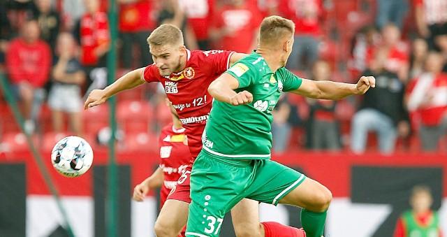 Patryk Stępiński jest silnym punktem drużyny Widzewa w tym sezonie pierwszej ligi