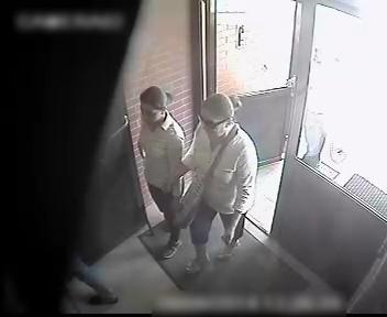 Podejrzane w budynku przy Marcelińskiej