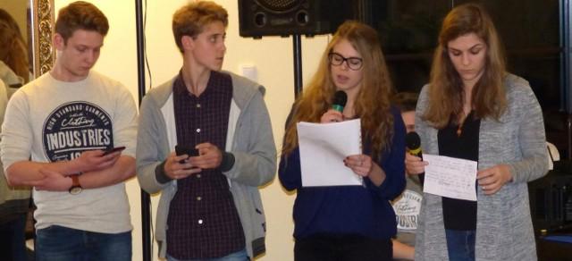 """Tak swój projekt """"energetyczny"""" prezentowała w Euforii drużyna francuska - z Lycee Polyvalent."""