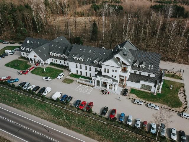 Hotel Cztery Pory Roku w Pilikach koło Bielska Podlaskiego - jedno z ośmiu izolatoriów w Podlaskiem.