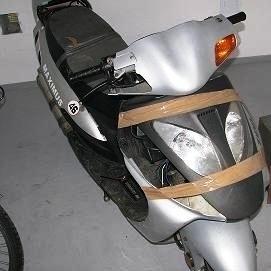 Policjanci odzyskali skradziony skuter.