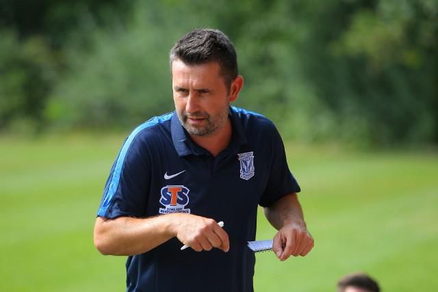 Nenad Bjelica, trener Lecha Poznań jest bardzo zadowolony z przygotowań do sezonu