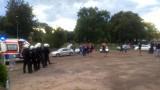 Awantura kibiców po meczu Błękitni Stargard - GKS Tychy. Policja użyła gazu łzawiącego