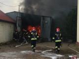 Po gigantycznym pożarze w firmie produkującej znicze w Kielcach ruszył proces. Wśród oskarżonych prezes firmy