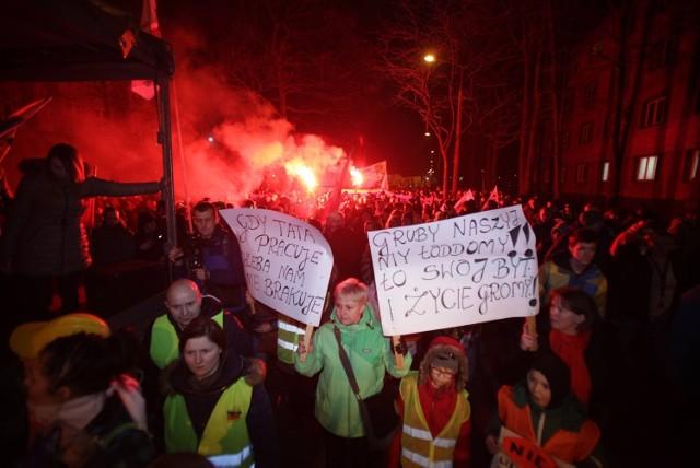 Marsz Protestacyjny w Bytomiu