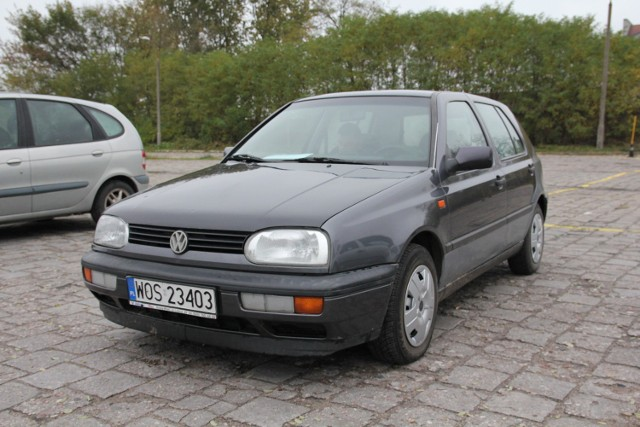 VW Golf III, 1,6 + gaz, 2 tys. 800 zł