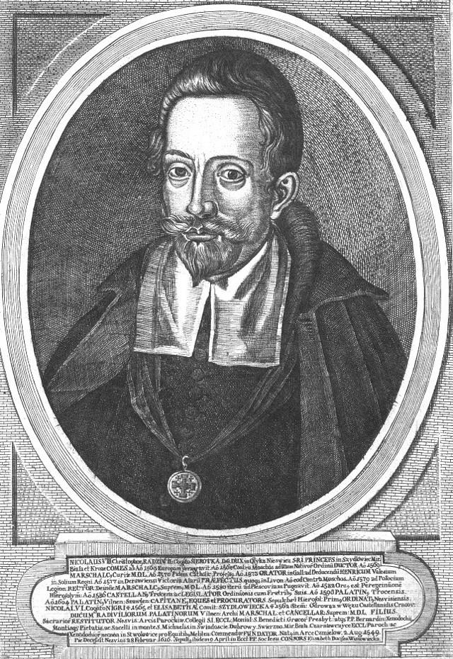 """Mikołaj Krzysztof Radziwiłł, zwany """"Sierotką"""""""