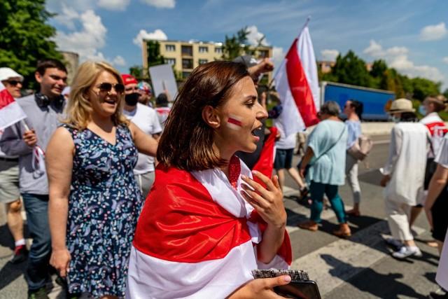 Białorusini nie ustają w protestach przy granicach