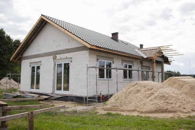 Tak wygląda już jednokondygnacyjny budynek, w którym będzie mieścić się świetlica wiejska w Jakubowie.
