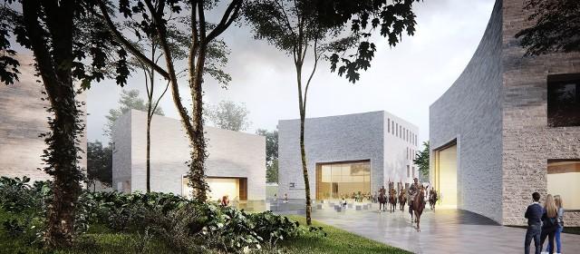 Podczas wirtualnego spaceru można zobaczyć plan nowej siedziby muzeum oraz zebrane dotychczas eksponaty