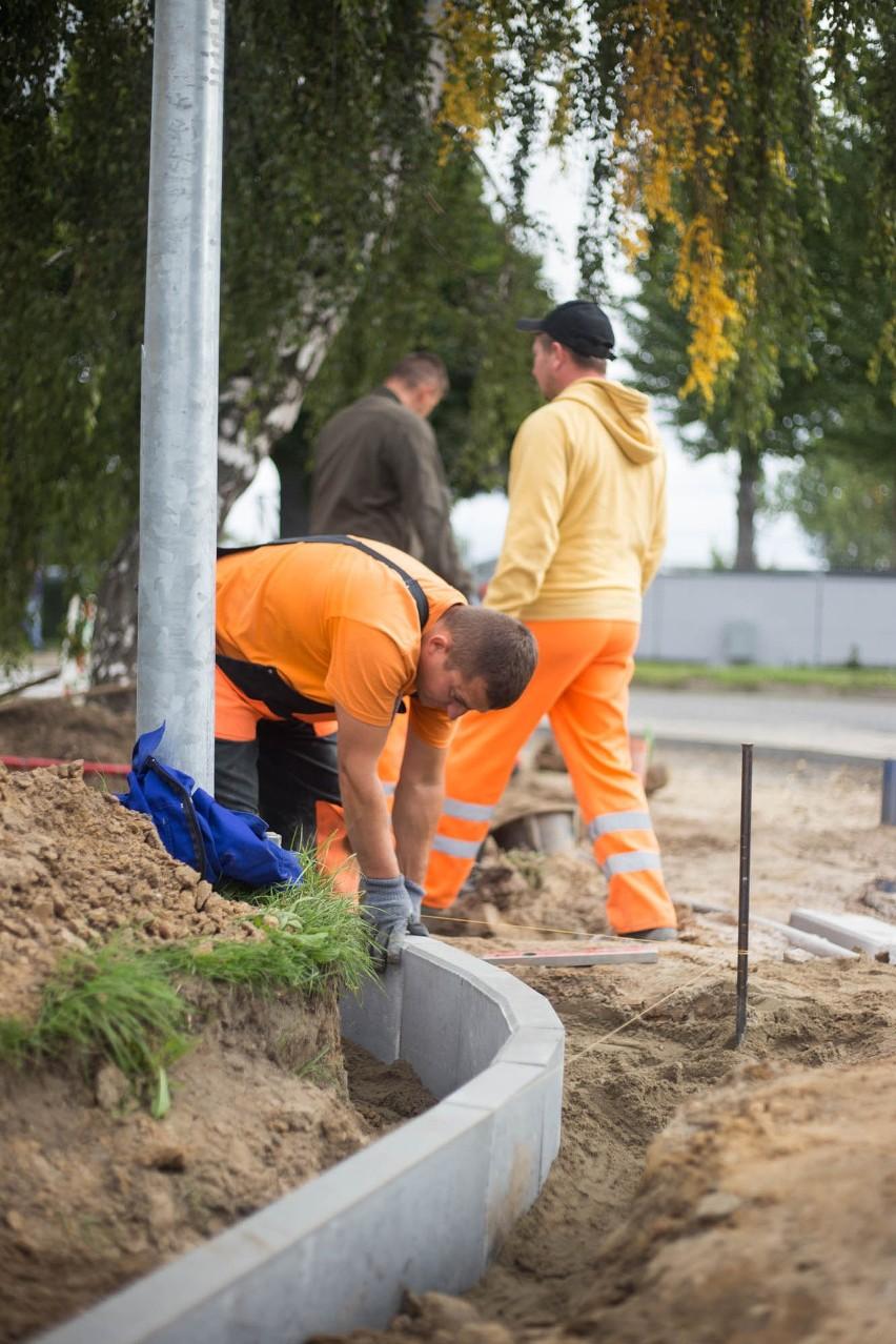 Trwa remont ulicy Konarskiego w Słupsku [ZDJĘCIA]