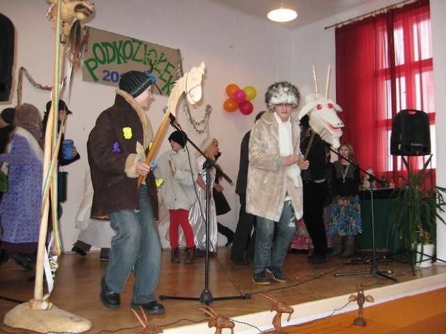 Jak co roku w Chabsku wystąpił zespół ze szkoły w Rzeszynku