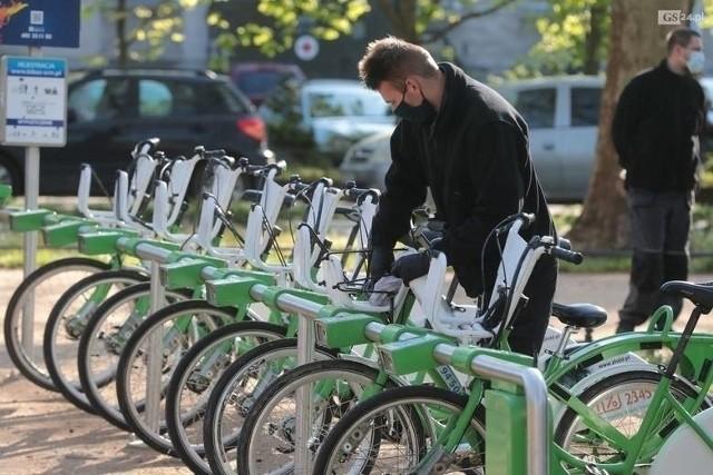 Rower miejski w Szczecinie
