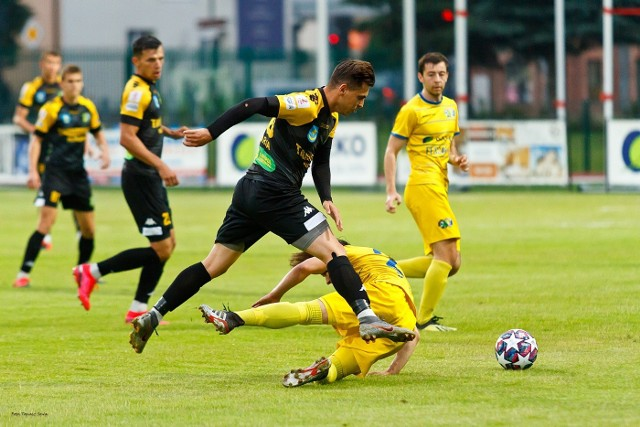 W piątkowym sparingu Siarka pokonała Ekoball Stal 2:0
