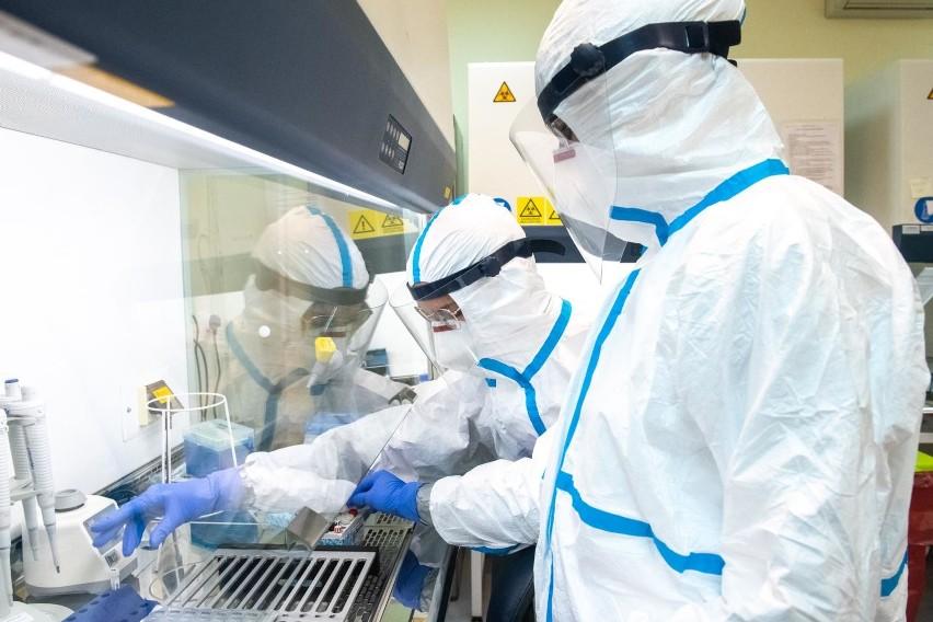 13.08.2020 poznan lg laboratorium sanepid testy test covid 19 koronawirus. glos wielkopolski. fot. lukasz gdak/polska press